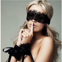 ingrosso giocattoli di sesso caldo delle coppie-2018 abbigliamento esotico sexy lingerie hot lace mask bendata patch sesso manette giocattoli del sesso per le coppie biancheria erotica per le donne