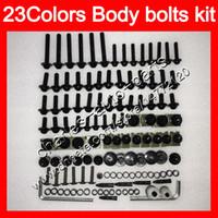 Wholesale Ninja Kawasaki Body Plastics - Fairing bolts full screw kit For KAWASAKI NINJA ZX6R 09 10 11 12 ZX-6R 6 R ZX 6R 2009 2010 2011 2012 Body Nuts screws nut bolt kit 23Colors