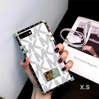 iphone6 mais caso tpu venda por atacado-M moda marca de luxo phone case para iphone iphone9 iphone7 8 plus iphone7 8 iphone6 6sp 6 designer phone case para novo iphone