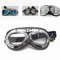 Wholesale motorcycles sunglasses online - Motorcycle Universal Sunglasses Ultraviolet Proof Crown Prince Harley Helmet Goggles Riding Dustproof Of Motorcycle Color Lens sl dd
