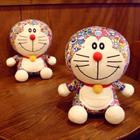 boneca gato doraemon venda por atacado-Novo 25 CM japonês brinquedo dos desenhos animados Doraemon Gato Boneca Máquina Gato Boneca Viking De Pelúcia De Grandes Dimensões Brinquedos de Presente de Brinquedo de Natal Dia Das Bruxas