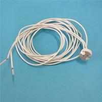 Customized 1.8meter 6 feet High temperature resistant Wire G4 G5.3 MR11 MR16 Ceramic Socket Lamp Holder