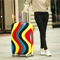 Wholesale protective suitcase covers - Hot Fashion Travel on Road Luggage Cover Protective Suitcase cover Trolley case Travel Luggage Dust cover for 18 to 30inch