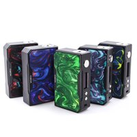 Wholesale carbon fiber box mods resale online - Voopoo DRAG W TC Box Mod Carbon Fiber Resin Version Battery Temperature Control Electronic Cigarette Vape Mod