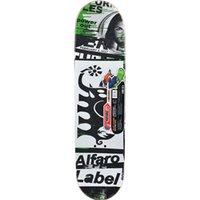 ingrosso grandi tavole di legno-Weing Big Four Wheels Stampa a colori Materiale in legno Tavole da skate Strada Skateboard Extreme Skater Board