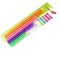 Wholesale great magic online - 50sets New Arrival Magic Bag Sealer Stick Unique Sealing Rods Great Helper For Food Storage Sealing cllip sealing clamp clip wn510