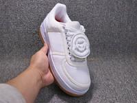 ingrosso marchio logo scarpe-2018 Travis 3M Designer Magic Logo Sostituisci 1 Scarpe da skateboard Riflettore brand Fashion White Running Trails Sneakers sportive