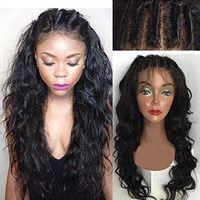 ingrosso grande parrucca afro dei capelli umani-ZhiFan 8-22 pollici lungo Afro Big Wave ricci capelli umani parrucca mano gancio medio titolo spaccare i capelli