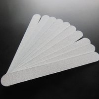 Wholesale disposable board resale online - zebra nail file wood nail file thin disposable wooden emery board grit