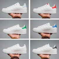 Wholesale female toe - Hot 2018 Fashion mens Casual shoes Superstar smith stan Female Flat Shoes Women Zapatillas Deportivas Mujer Lovers Sapatos Femininos for men