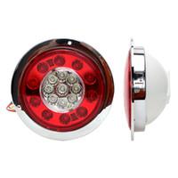 ingrosso camion della lampada principale-iTimo Car-styling LED rotonde auto Fanale posteriore indicatori di direzione di retromarcia Auto Brake Light Truck Trailer segnale di girata della lampada 19LED