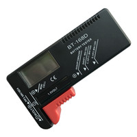 Wholesale aa electronics online - BT168D Digital Battery Tester Universal Voltage Meter BT D Battery Checker LCD Screen Electronic Battery Volt Checker for AA AAA V V