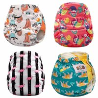 Wholesale diaper pants for babies for sale - Group buy JinoBaby bamboo aio diapers Heavy Wetter Potty Training Pants for Babies