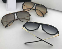 New popular design sunglasses 40025 pilot plate combination with metal frame popular style top quality UV 400 protection sunglasses