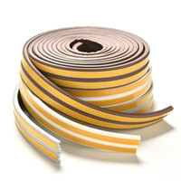Wholesale Door Window Rubber Seal Strips - 5M I-Type Foam Draught Self Adhesive Window Door Excluder Rubber Seal Strip