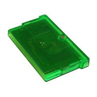 tarjetas de fuego al por mayor-Cartuchos de videojuegos de gameboy en inglés de EE. UU. / UE juegos gba juegos fuego rojo / rubí / zafiro / hoja verde / esmeralda Navidad