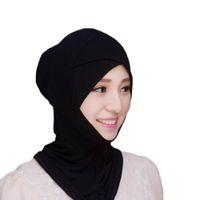 колпачок абая оптовых-Мусульманский головной платок Внутренняя шапка Шапка-капот Underscarf Хиджаб Обложка из шарфа Абайский тюрбан