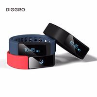 ingrosso braccialetti di salute all'ingrosso-Commercio all'ingrosso I5 più astuto del braccialetto IP65 del braccialetto di orologi impermeabili Monitor di forma fisica di salute di Bluetooth 4.0 di OLED Smartband