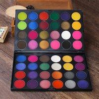 48 lidschatten großhandel-IMAGIC 48 Colors Matte Lidschatten-Palette Powder Professional Make-up Lidschatten Kosmetik Lidschatten