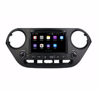 Wholesale android car dvd hyundai resale online - 2GB RAM Quad core din quot Android Car DVD Player for Hyundai I10 With GPS Radio Bluetooth WIFI GB ROM USB DVR