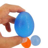 Wholesale hand massage balls - Hands Expander Egg Power Ball Massage Hand Gripper Strengths Stress Relief Fitness Balls Forearm Finger Exercise Equipment 3 3hy Z
