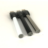 bateria recarregável venda por atacado-3 cores recarregáveis 510 thread vape bateria para M6T G5 th210 Thick oil atomizador M3 sem teclas baterias ecig canetas com carregador USB