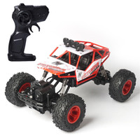 Wholesale road games - Large Number Remote Control Car Boy Cool Four Drive Alloy High Speed Racing Outdoor Game Rechargeable Off Road Vehicle Gift 54ll WW