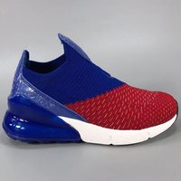 Wholesale led sneakers - Led Lighted Max270 Half Aircushion Shock Absorption Kids Running Shoes Original Max27C Mesh Aircushion Children Trainer Sneakers