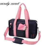 aab7e1e337a0 Japanese Style Uniform Handbag Brand Fashion Oxford Women Shoulder Bags  Solid High School Students Bookbag Messenger Travel Bags
