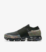 Wholesale canvas belt blue - Vapormax moc black belt Mens Running Shoes For Men Sneakers Women Fashion Athletic Sport ShoeWalking Outdoor Shoe Eur 36-45