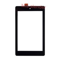 ingrosso amazon accende il nero-20Pcs (Testato) Nero per Amazon Kindle Fire HD 6 HD6 (versione 2014) Touch Screen Digitizer Panel Vetro esterno Sensor DHL Free