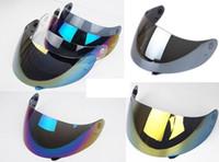 vollgesichtsschild großhandel-Full Face Motorrad Helm Visier für AGV K3 K4 K5 SV Motocross Helme Objektiv Schild DDA383