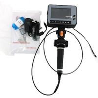 cámaras industriales al por mayor-DR4540F 4.3''LCD Industry Video Snake Endoscope 4 Way Inspection Camera Boroscopio Handheld OD 4.0mm Industrial Endoscopio 1.5m