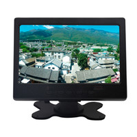 Wholesale support vcd dvd resale online - 7 Inch Ultra Thin Super HD IPS LCD Monitor DVD VCD Headrest Monitor Support Audio Video HDMI VGA