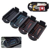 carro de armazenamento de braço venda por atacado-New Car Center Console Organizador Auto Armrest Box Assento Lateral Saco De Armazenamento Bandeja Para Toyota C-HR 2016-2017