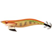 Wholesale squid lead lures online - 3 Squid Jig wood shrimp Luminous eyes body lead weight Fishing Lures baits EMS