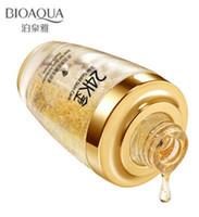 crème de jour or achat en gros de-BIOAQUA 24K Gold Crème Visage Hydratante Crème De Jour Hydratante 24K Gold Essence Serum Pour Les Soins Du Visage Femmes