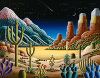 Wholesale counted kits for sale - Group buy New D DIY Diamond Painting Cozy Scenery Counted Cross Stitch Kits Mosaic Resin Embroidery Nice Gift Cactus Painting