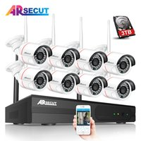 Wholesale wireless ip camera hd ir for sale - Group buy New Plug And Play CH WIFI CCTV Camera System P HD MP Outdoor Indoor Night Vison IR IP Wireless Security Camera Kit