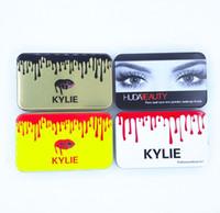 yaş toz toptan satış-Marka @ uty 12 ADET Islak Toz Fırça set Yüz ve Gözler ve Kylie-Fırça vakfı pudra allık Makyaj Fırçalar High Tech ücretsiz gemi