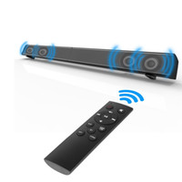 Wholesale bluetooth computer remote - Soundbar LP-09 Bluetooth Speaker 2.0 Channel Wired and Wireless Bluetooth TV Soundbar Audio 31.5 Inch 40W Built-In Subwoofer Remote Control