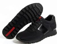 tarzı marka ayakkabıları toptan satış-YENI MODA 7 RENKLER TARZI ERKEKLERI BAYANLARı YÜKSEK KALITELI DERI VE COLTH P V MALZEME ELBISE MARKA AYAKKABı EU38-45 BOYUTU ÜCRETSIZ NAKLIYE