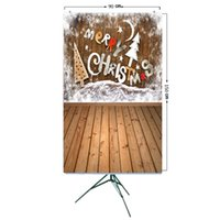 Wholesale christmas photo backdrops resale online - ALLOYSEED Vinyl Studio Backdrop Christmas Photography Prop Photo Background x5ft Home Photo Background D Effects