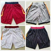 Wholesale houston s - CITY EDITION 2018 New Authentic Basketball Jersey Shorts CLEVELAND BOSTON GOLDEN STATE HOUSTON Men Short Jerseys