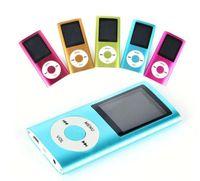 "Wholesale Slim Mp4 Player 8gb - Slim 4TH 1.8"" LCD MP4 Player Earphone MP4 Music Player Support 2GB 4GB 8GB 16GB TF Card Slot"