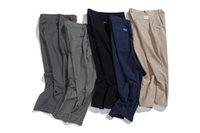 calças harem juvenil venda por atacado-Harem as calças dos homens da marca do desenhador de moda Calças justas básico da juventude Calça Casual High Street Vintage Pant Grande Tamanho S-3XL