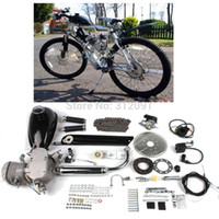 Wholesale engine air cooled - (Ship from US) Bicycle 80CC 2-Stroke Bicycle Engine Kits for Motorized Bike DIY Bicycle Air Cooling