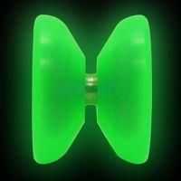 cuerdas de yoyo al por mayor-MAGICYOYO K1 Resplandor fluorescente de la bola YoYo en el Yoyo verde oscuro con Yoyo String Trucos de cuerdas para niños Regalo de juguete