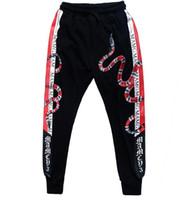 ingrosso serpente di skate-pantaloni hip-hop per ragazzi stampati su pantaloni da skateboard con stampa stile hip hop pantaloni per il tempo libero da uomo e donna