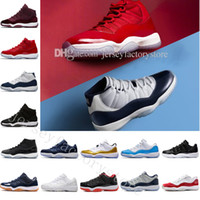 Wholesale cheap synthetic weave - 2018 Cheap NEW 11 Elite Mens Basketball Shoes for Top quality Black White XI KB Weaving Sports Training Sneakers athletic trainers US 5.5-13